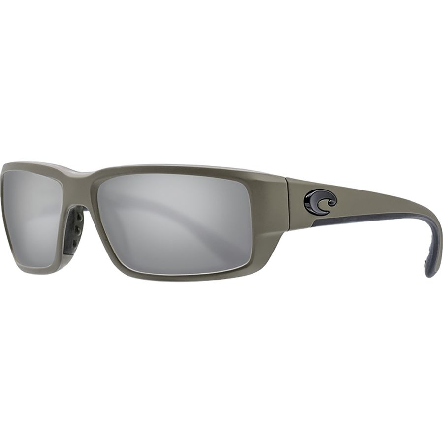 55c2aab4410 Costa - Fantail 580G Polarized Sunglasses - Moss Gray Silver Mirror