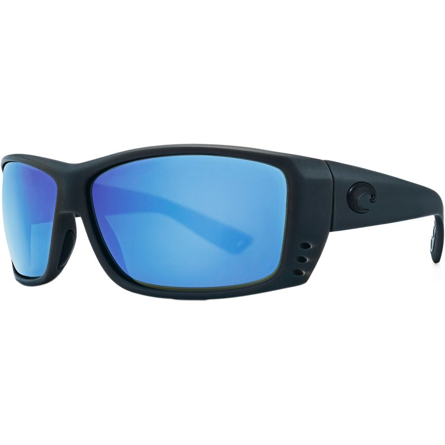 0c30a11ac3 Costa - Cat Cay Polarized 580G Sunglasses - Men s - Matte Gray Ocearch - Blue  Mirror
