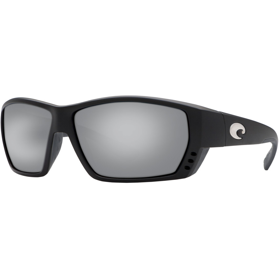 e1d4e63706 Costa - Tuna Alley 580G Polarized Sunglasses - Men s - Matte Black Silver  Mirror