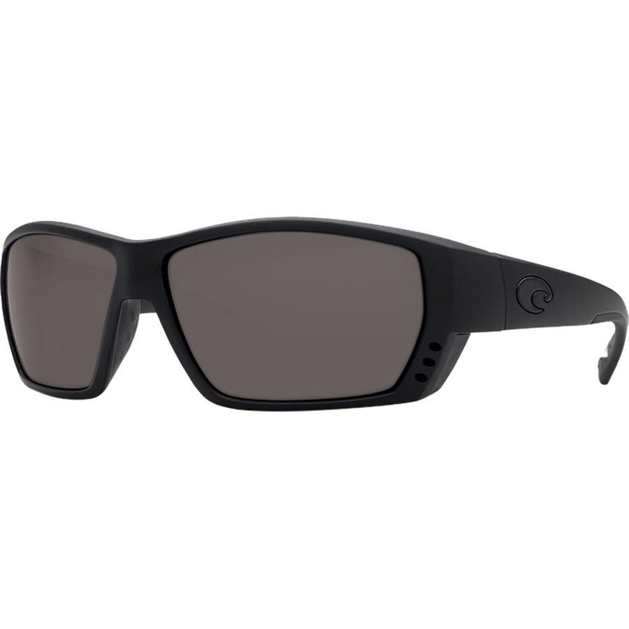 f045bb097f5a Costa - Tuna Alley 580G Polarized Sunglasses - Men's - Blackout Frame/Gray  580G