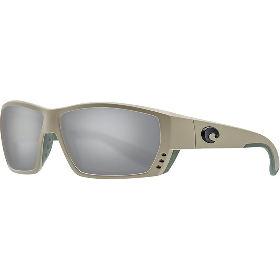 d69ede0af7a10 Costa - Tuna Alley 580G Polarized Sunglasses - Men s - Sand Gray Silver  Mirror