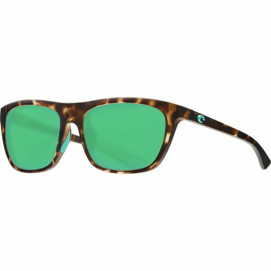 4c2073e430 Costa - Cheeca 580P Polarized Sunglasses - Women s - Matte Shadow Tortoise  Frame Green Mirror