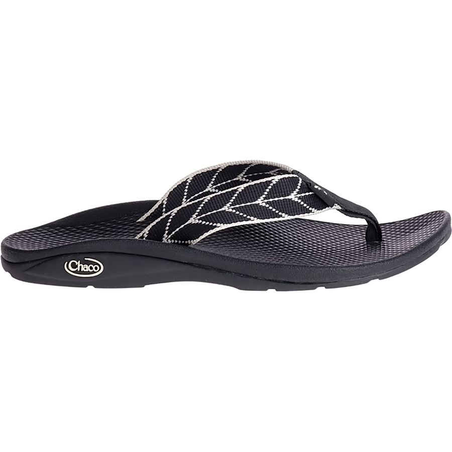 Chaco Women's Ecotread Flip-Flop, Venice Sunrise, 11 Medium US