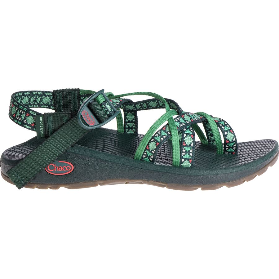 Chaco - Z/Cloud X2 Remix Sandal - Women's - Creed Pine