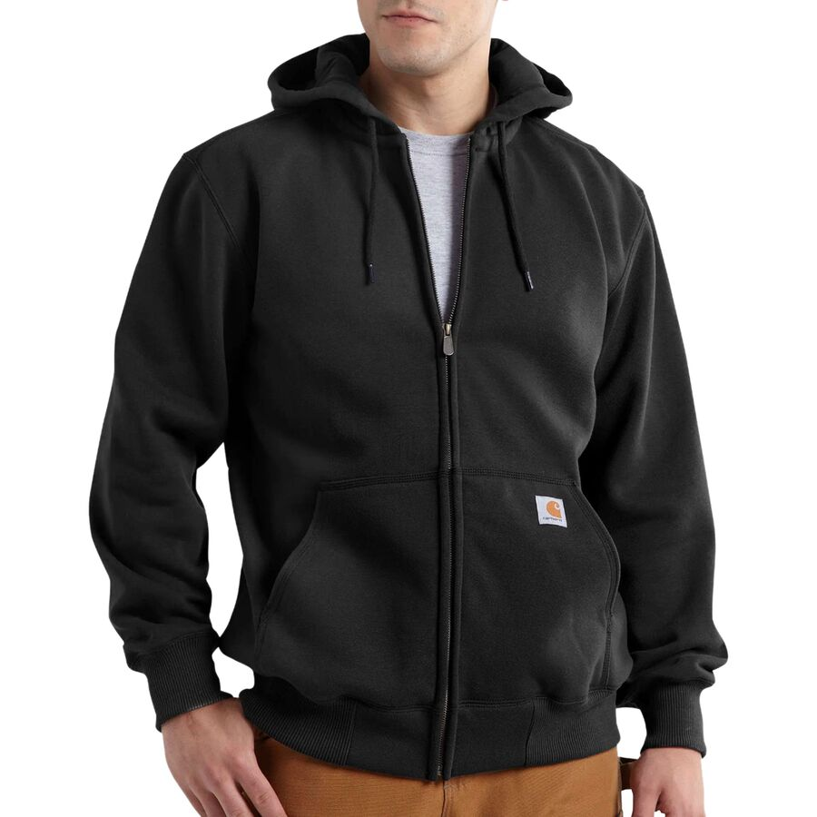 aefcf5d13 Carhartt Rain Defender Paxton Heavyweight Full-Zip Hooded Sweatshirt ...