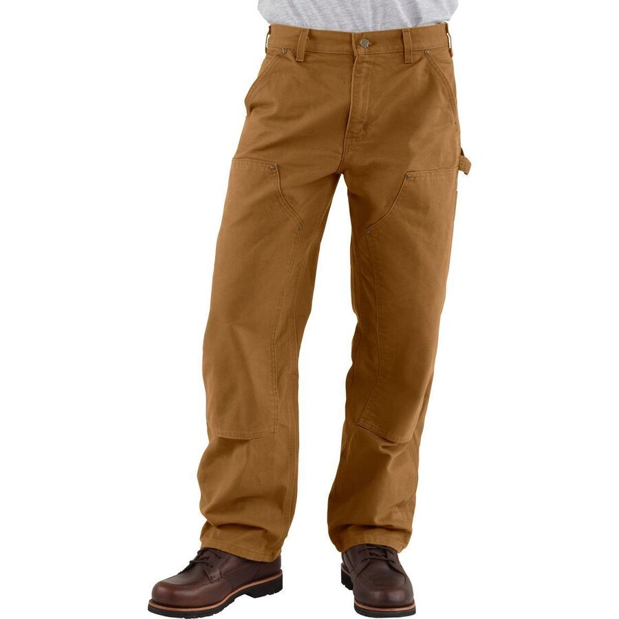 fc9c3f97ac Carhartt - Washed-Duck Double-Front Work Dungaree Pant - Men s - Carhartt  Brown