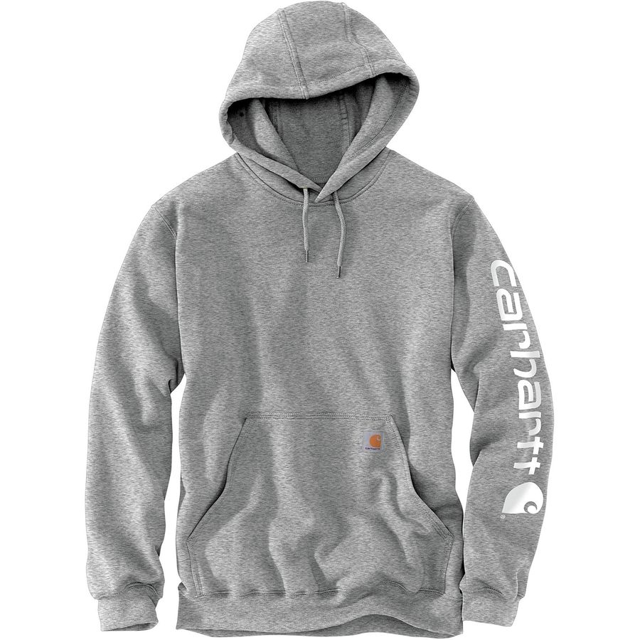 Carhartt Midweight Signature Sleeve Logo Pullover Hoodie
