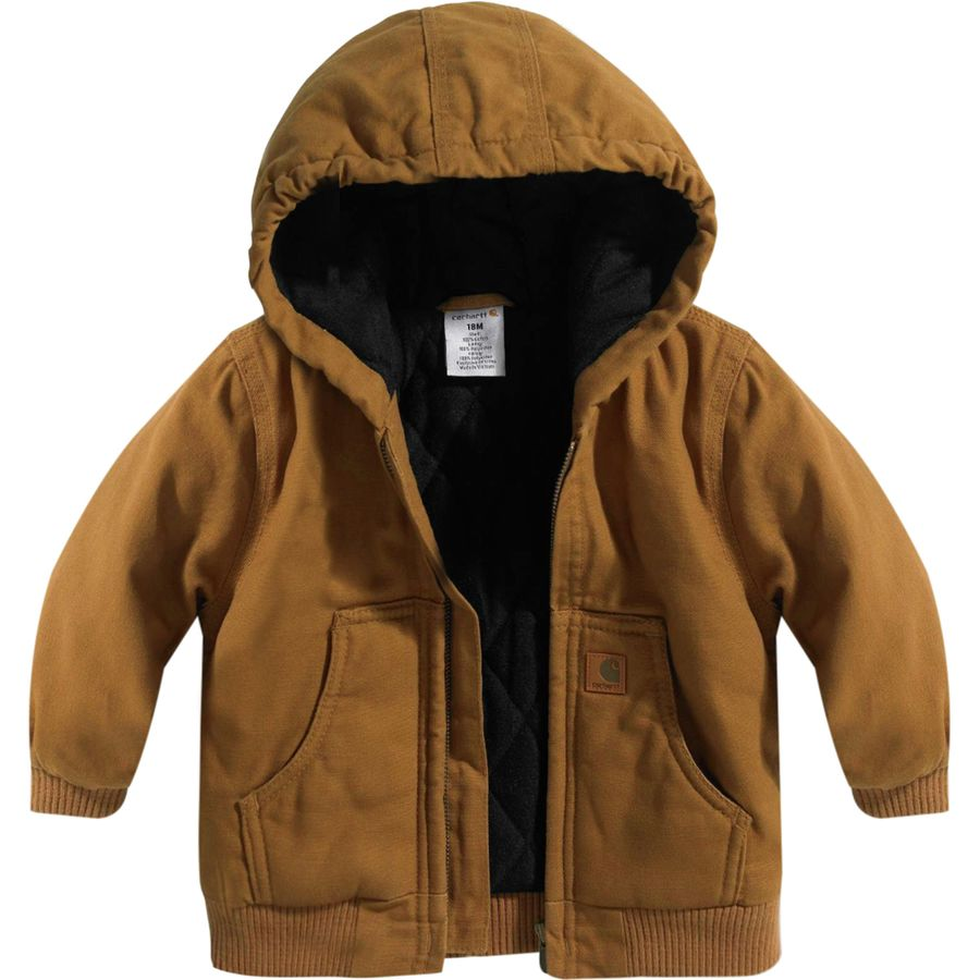 089e790ec Carhartt Active Flannel Quilt Lined Jacket - Toddler Boys ...