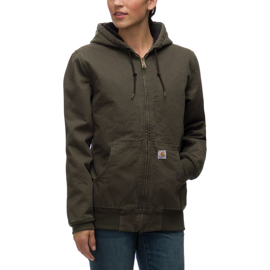 Carhartt Sandstone Active Hooded Jacket - Womenu0026#39;s | Backcountry.com
