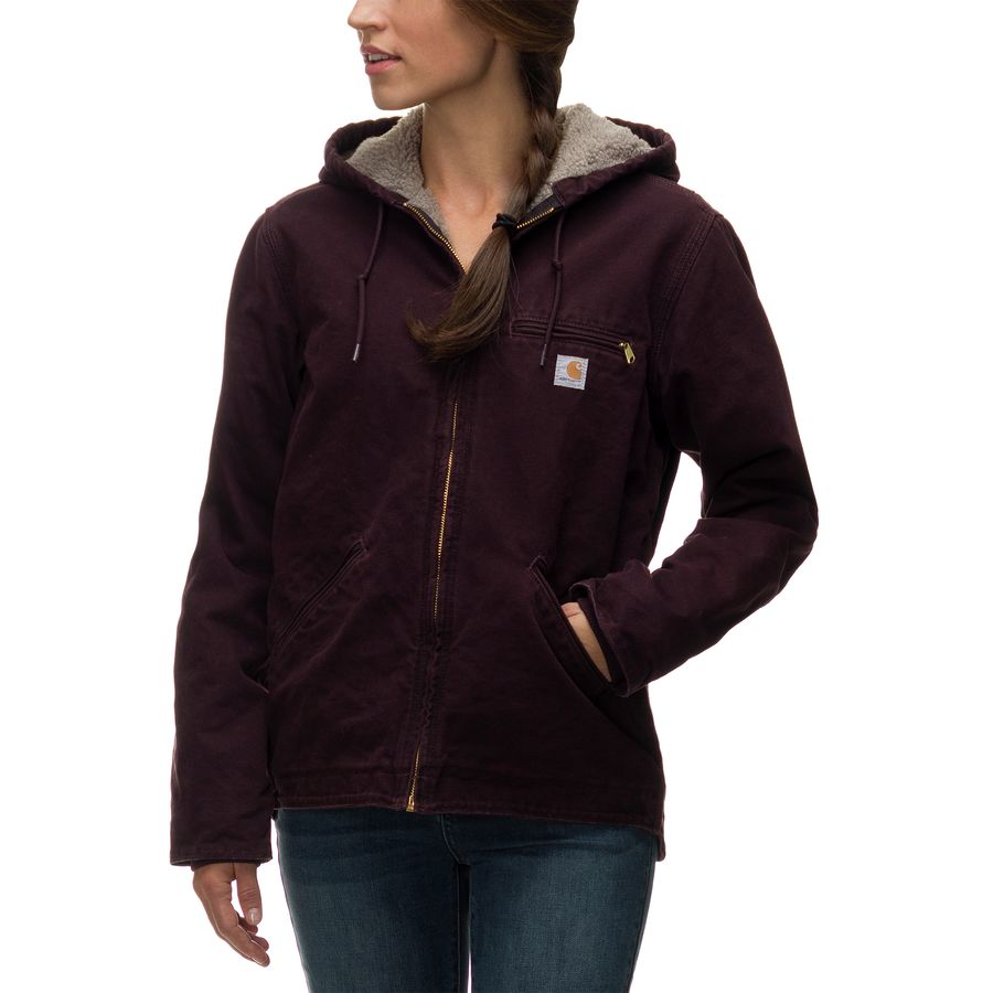 Carhartt Sandstone Sierra Hooded Jacket - Womenu0026#39;s | Backcountry.com