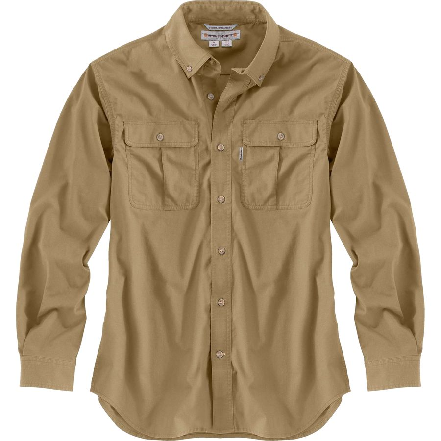 Carhartt Foreman Solid Long-Sleeve Work Shirt - Mens