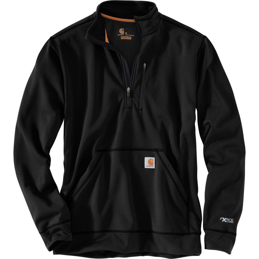 Carhartt Force Extremes Mock Neck Half-Zip Sweatshirt - Mens