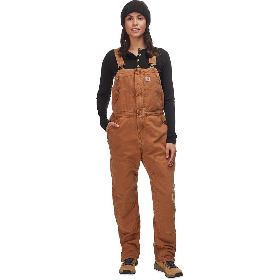large discount presenting most fashionable Carhartt Weathered Duck Wildwood Bib Overalls - Women's