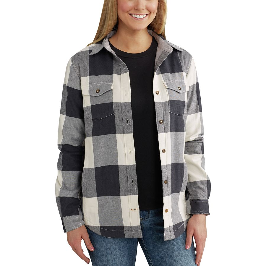 Carhartt Rugged Flex Hamilton Fleece Lined Shirt - Womens