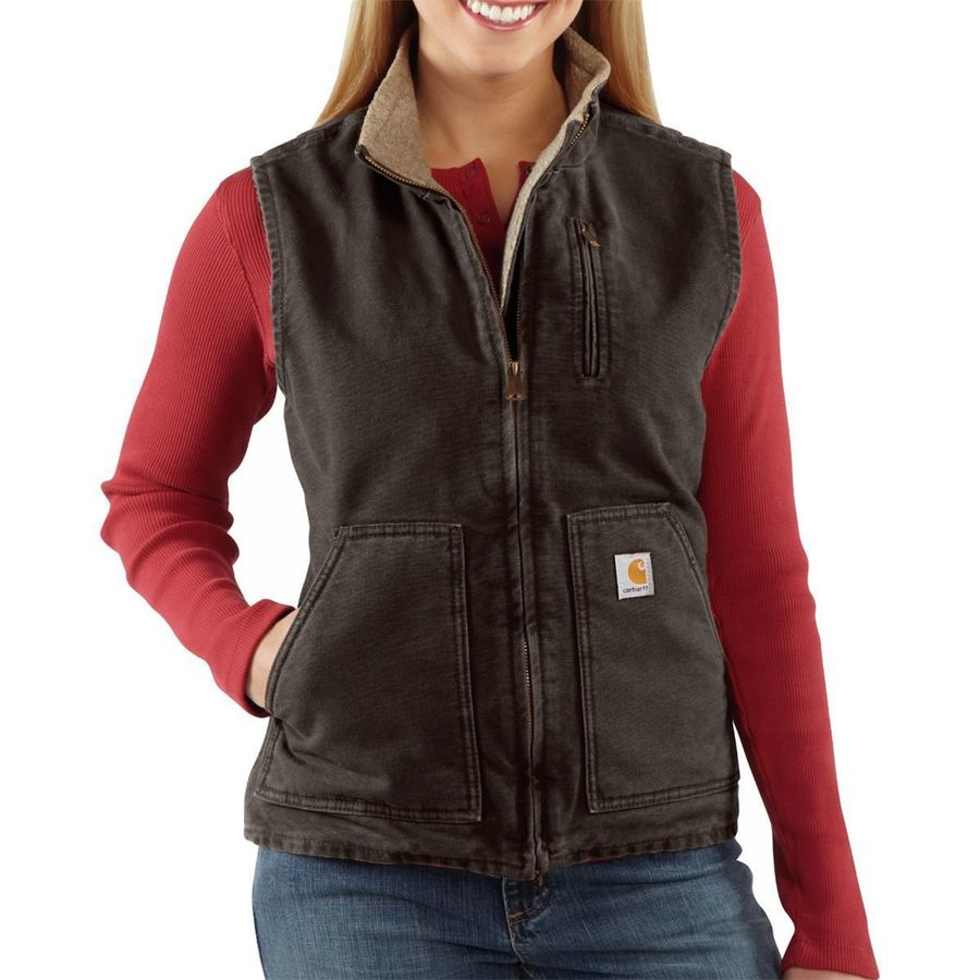 a90e406316c Carhartt Sandstone Mock Neck Vest Women S Backcountry