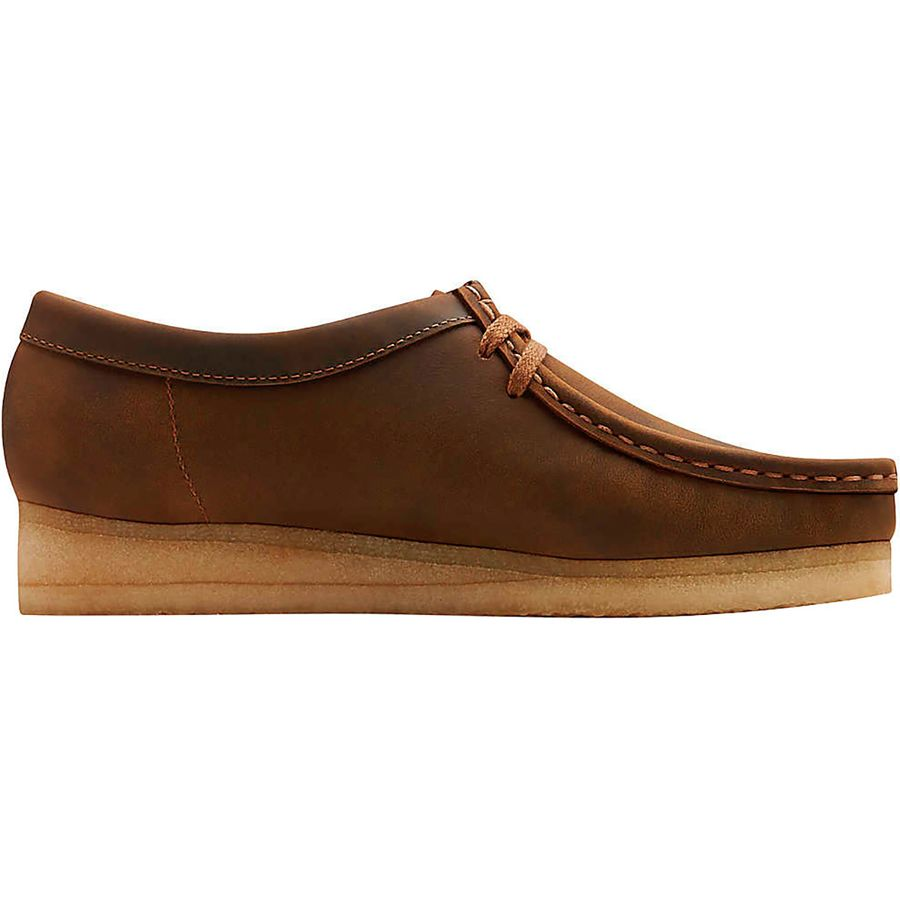 Clarks - Wallabee Shoe - Women s - Beeswax Leather a70eb8c74a