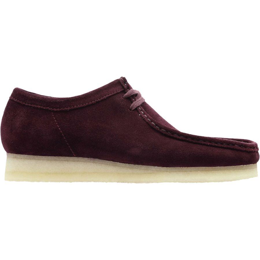 Clarks - Wallabee Shoe - Men's - Bordeaux Suede