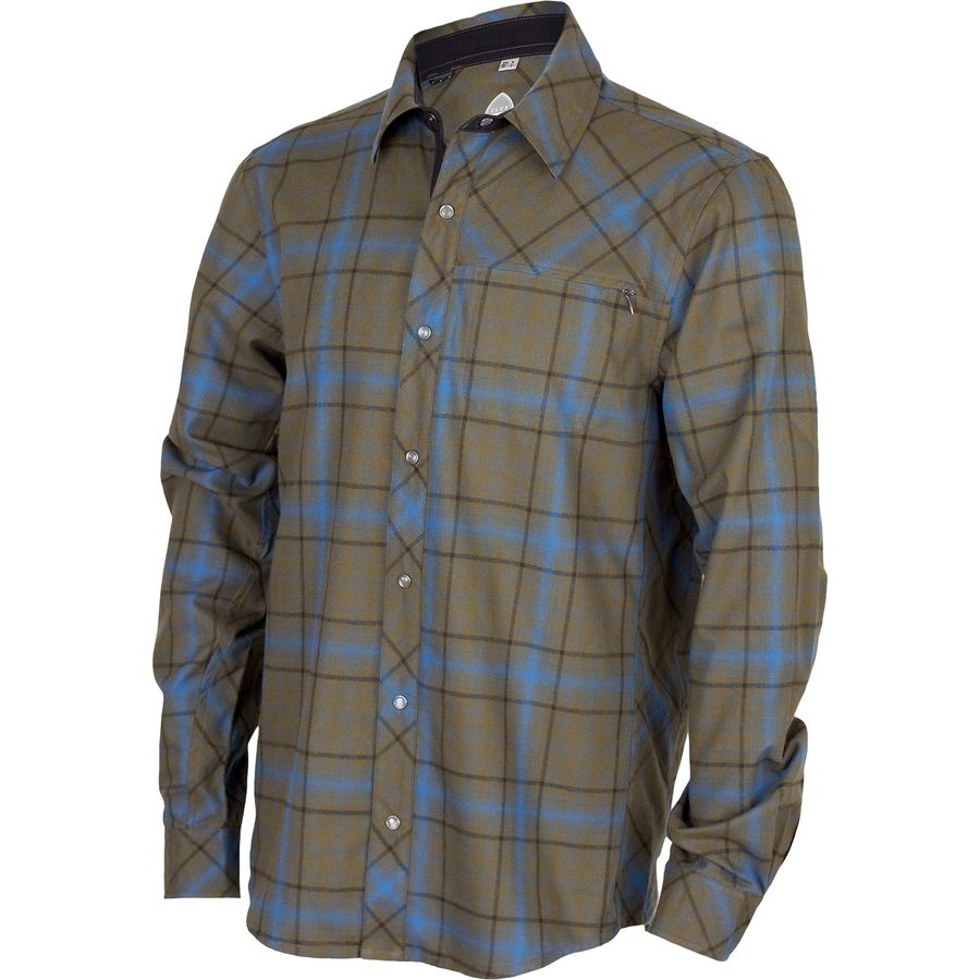 Club Ride Apparel Jack Flannel Jersey - Long Sleeve - Mens