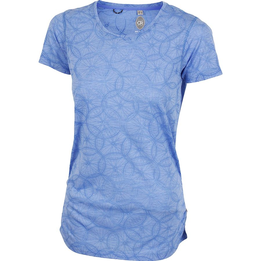 Club Ride Apparel - Wheel Cute T-Shirt - Women s - Glacier cd68aa82c