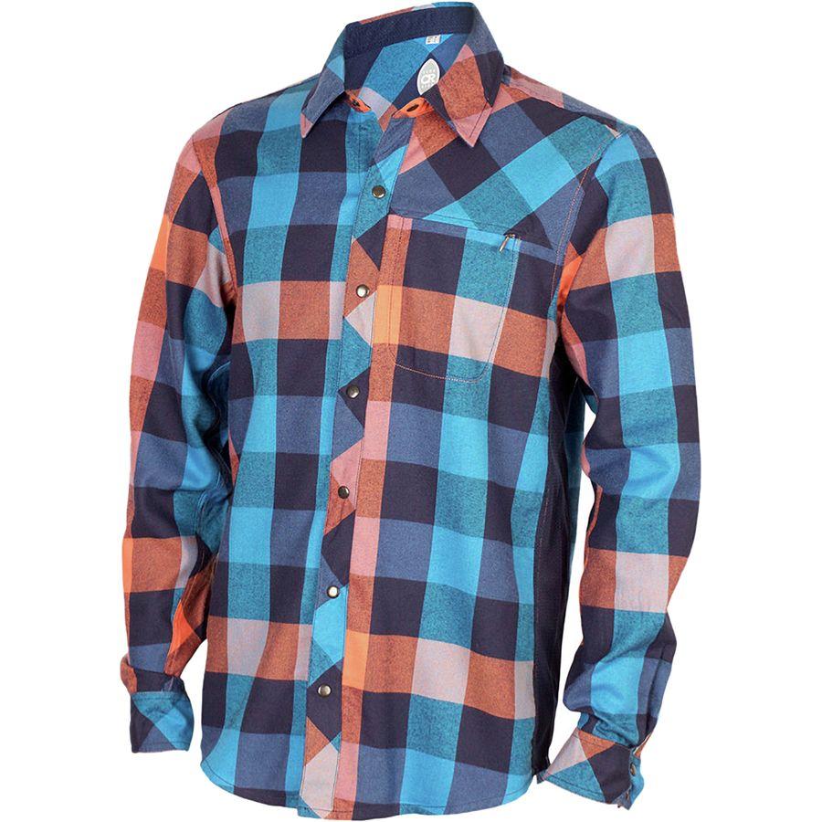 Club Ride Apparel Shaka Flannel Shirt - Mens