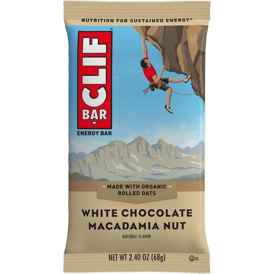 Clifbar - Clif Bars - 12 Pack - White Chocolate Macadamia