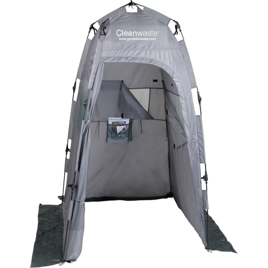 cleanwaste portable privacy tent. Black Bedroom Furniture Sets. Home Design Ideas