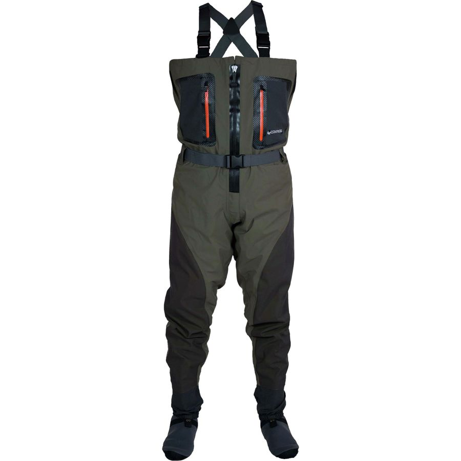 Compass 360 point guide z breathable chest wader men 39 s for Fly fishing waders sale