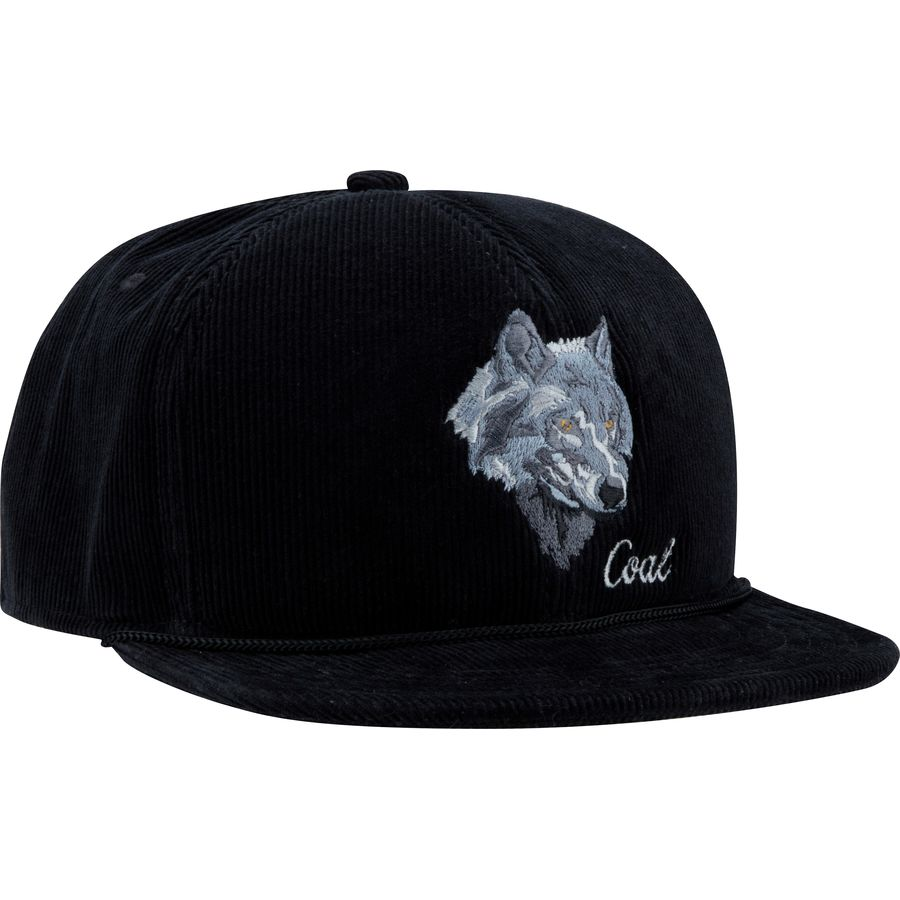 2072ac96244 Coal Headwear - Wilderness Snapback Hat - Men s - Black Wolf