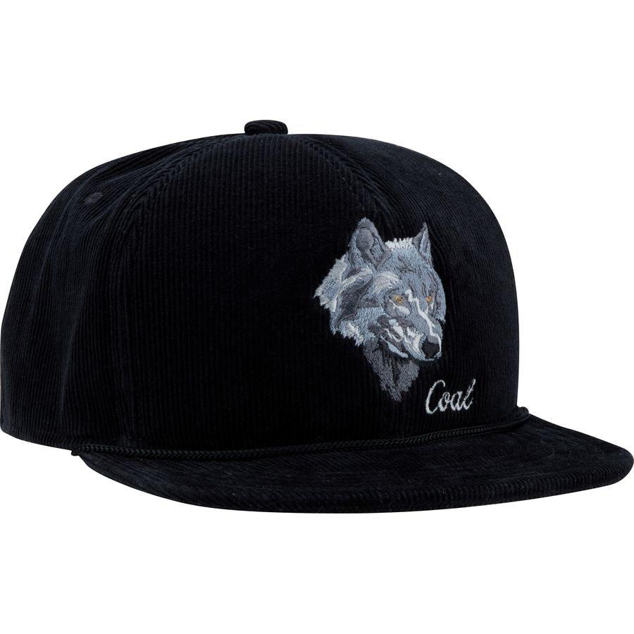 376b6c5ba6d Coal Headwear - Wilderness Snapback Hat - Men s - Black Wolf