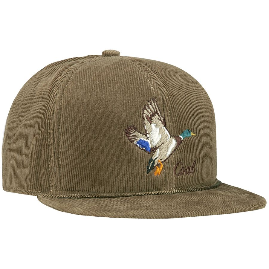 Coal Headwear - Wilderness Snapback Hat - Men s - Light Brown Duck fbbbdccb66cb