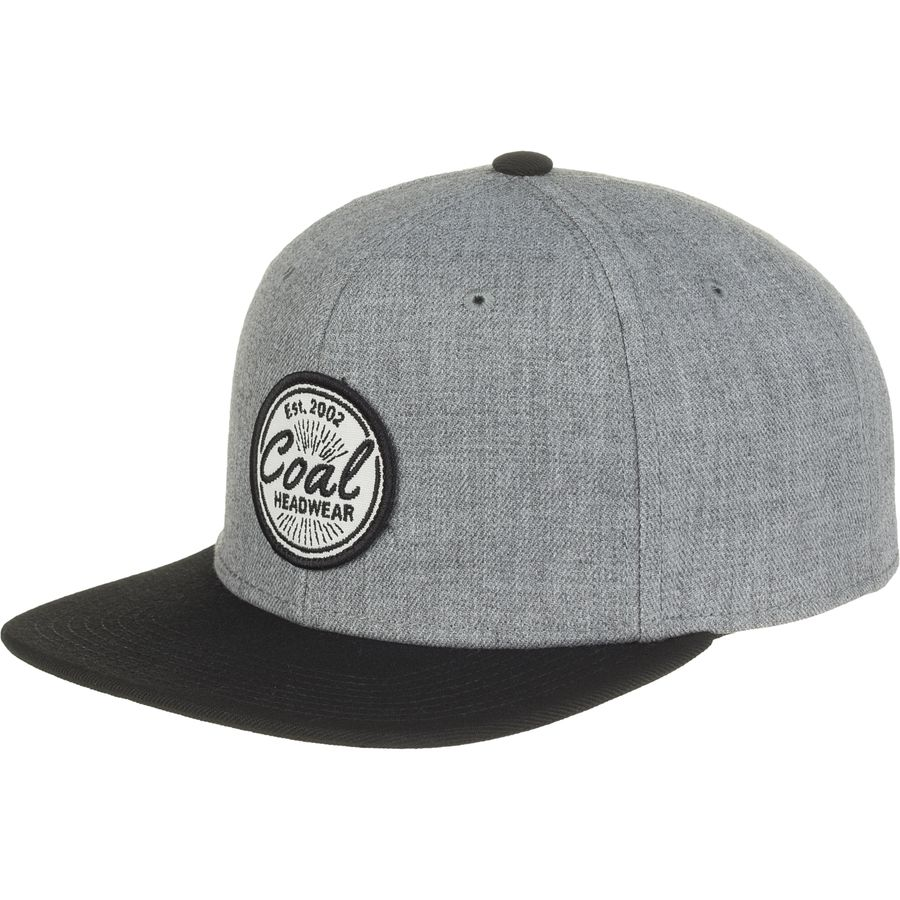 Coal Headwear - Classic Snapback Hat - Men s - Heather Grey 8e684be2ecd