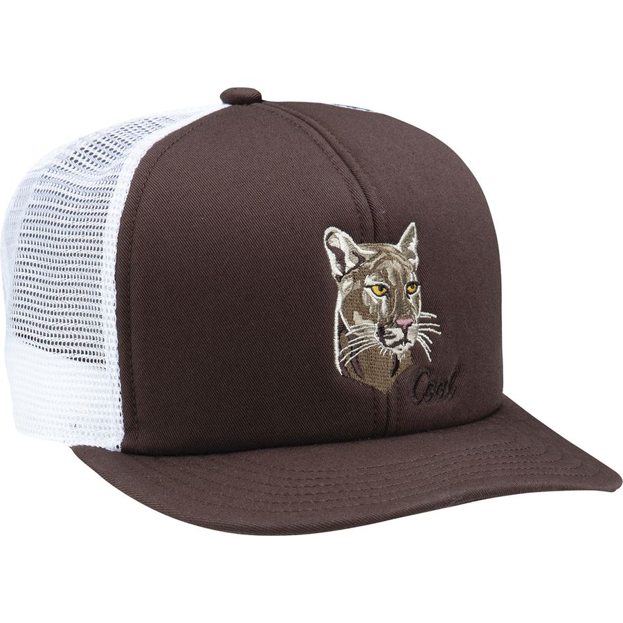 5fc575b18a9 Coal Headwear - Wilds Trucker Hat - Men s - Brown   Cougar