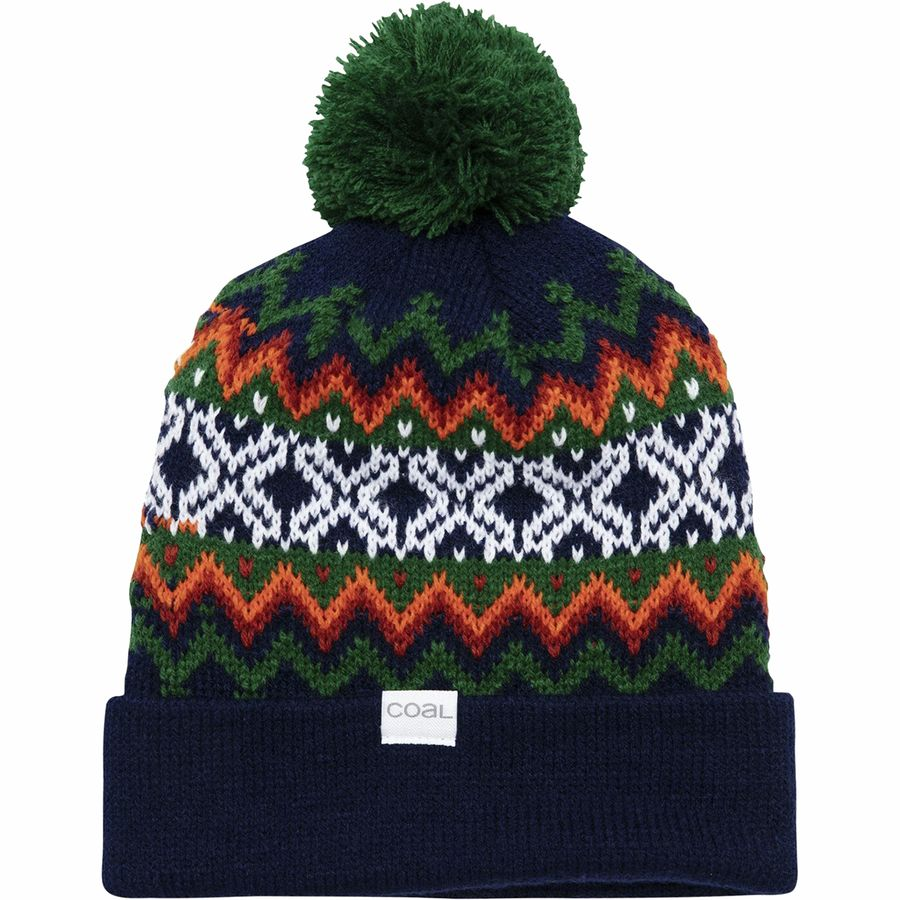 Coal Headwear - Winters Pom Beanie - Midnight 7b23f193835