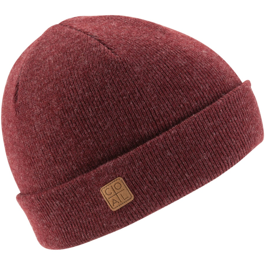 7cbbb93dc73 Coal Headwear - Harbor Beanie - Heather Burgundy