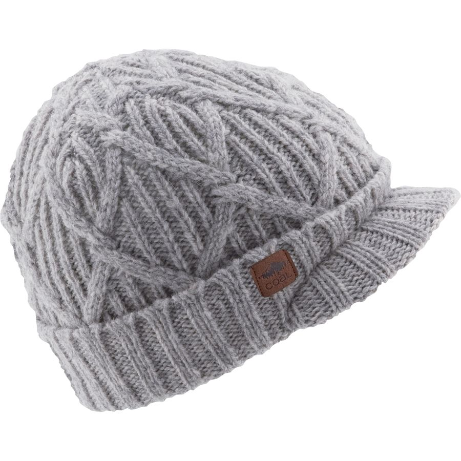 Coal Headwear - Yukon Brim Beanie - Women s - Grey 69545ac50320