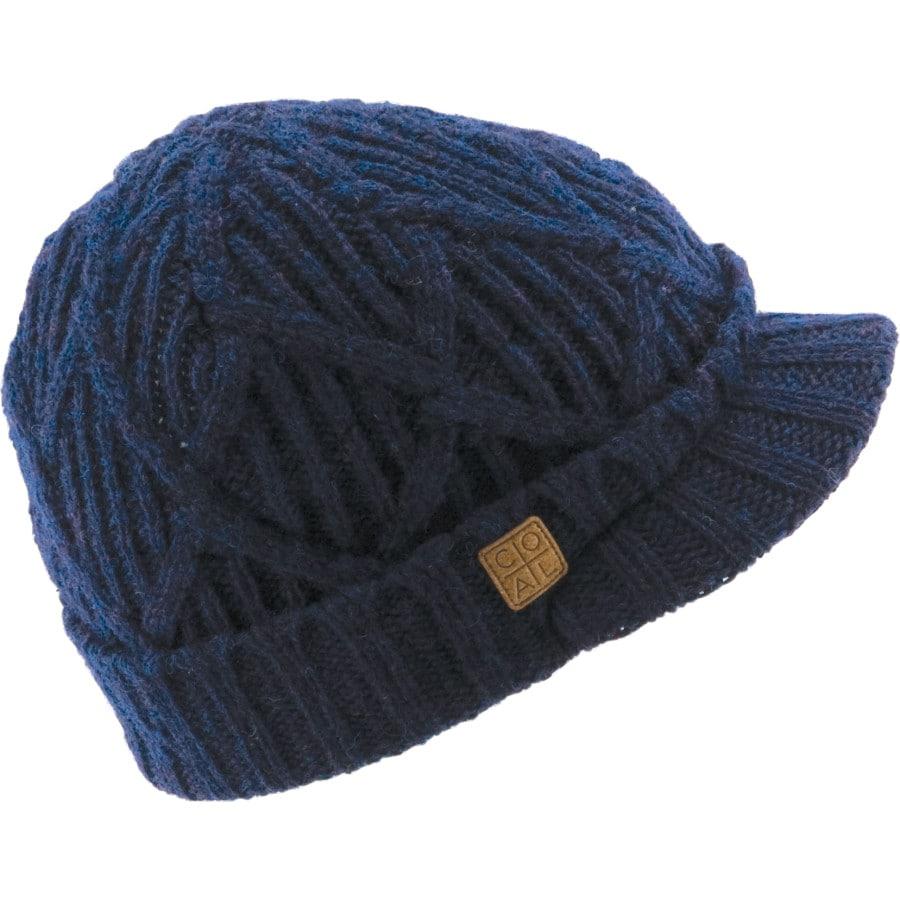 5213b1ee008d8 Coal Headwear - Yukon Brim Beanie - Women s - Navy
