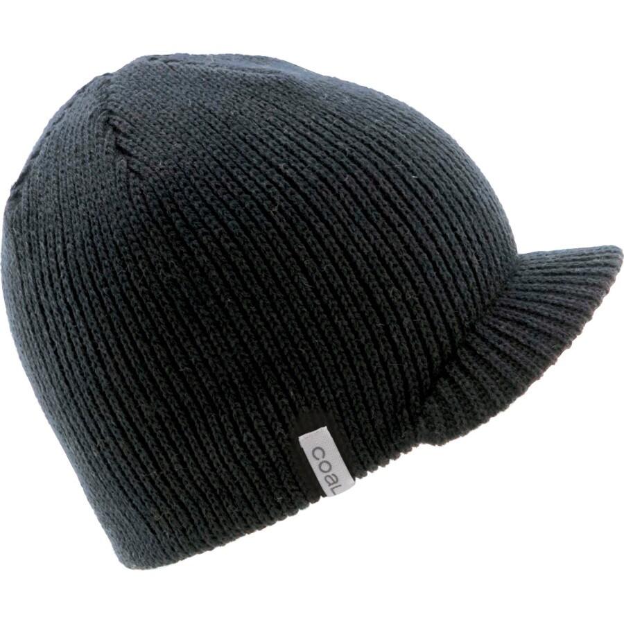Coal Headwear - Basic Visor Beanie - Women s - Black fe33b8f36db