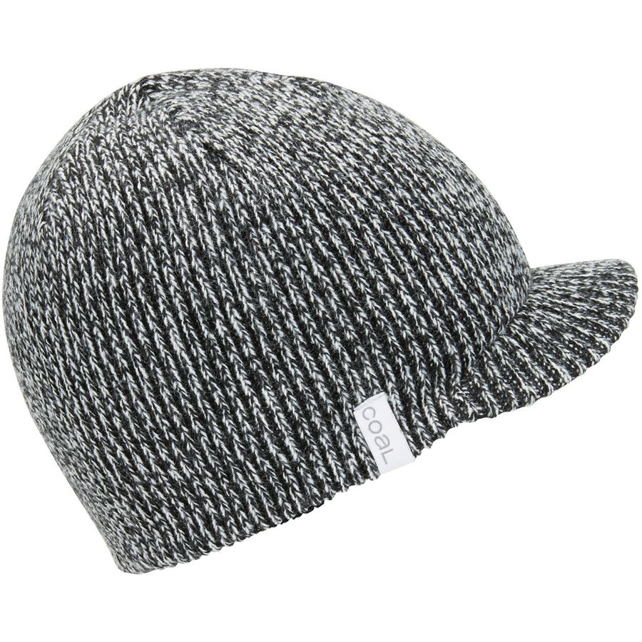 d88e40835e5 Coal Headwear - Basic Visor Beanie - Women s - Black Marl