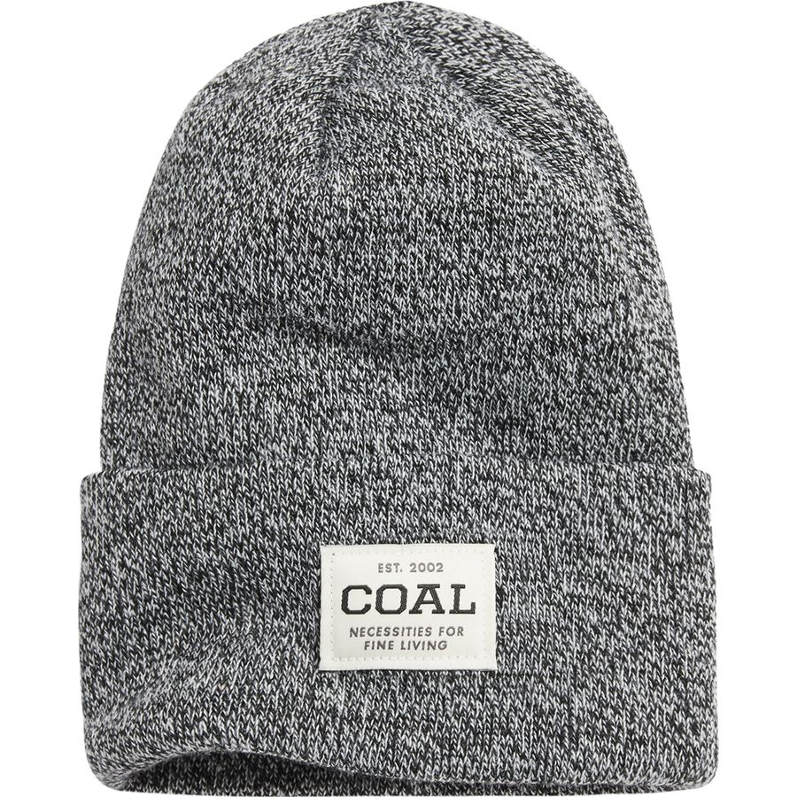 fcc87bbe1a6 Coal Headwear - Uniform Beanie - Black Marl