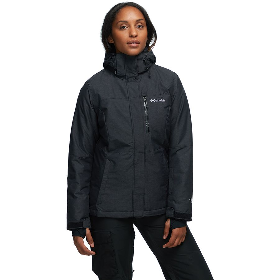 24eb822124be6 Columbia - Alpine Action Omni-Heat Hooded Jacket - Women s - Black