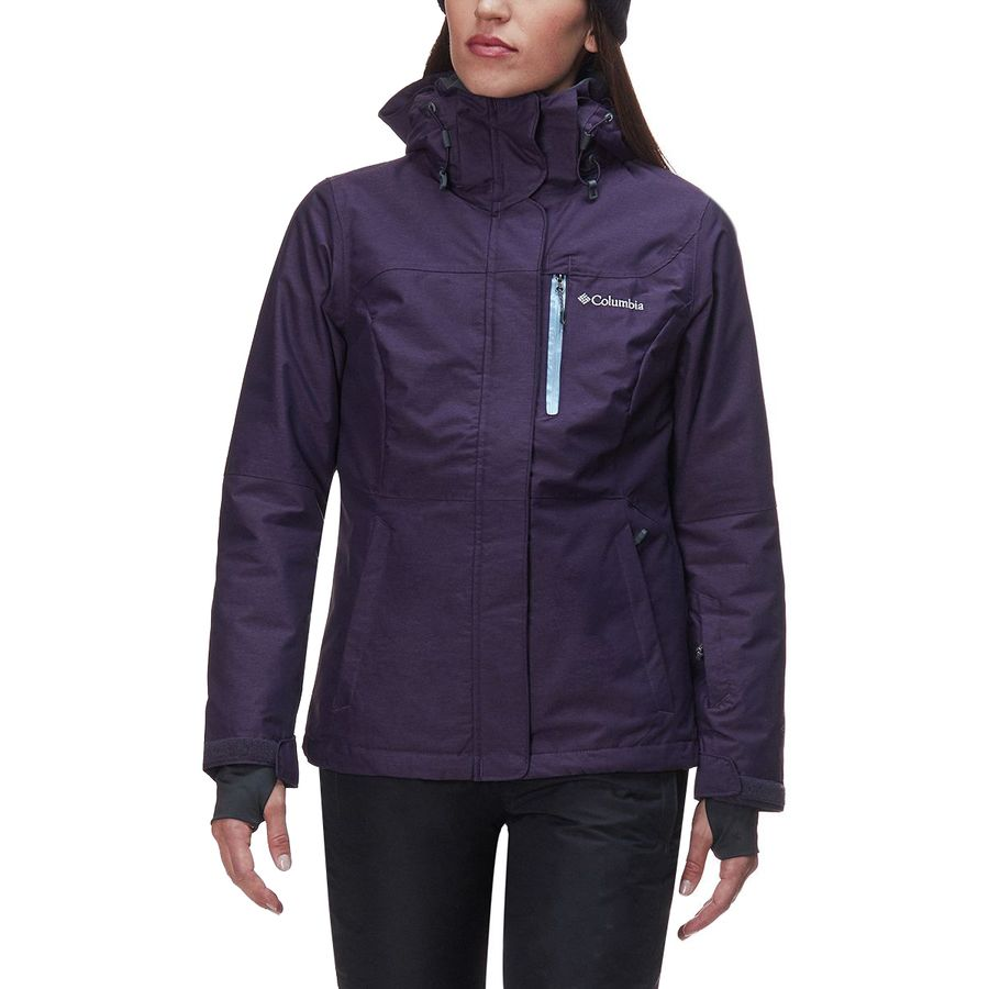 5dbfef643cf83 Columbia - Alpine Action Omni-Heat Hooded Jacket - Women s - Dark Plum