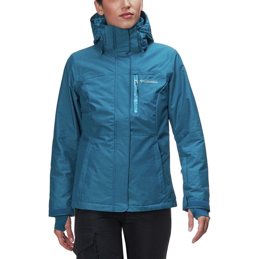 cd70e791a797b Columbia Alpine Action Omni-Heat Hooded Jacket - Women s ...