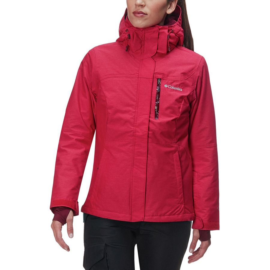 cd70e791a797b Columbia Alpine Action Omni-Heat Hooded Jacket - Women s ...