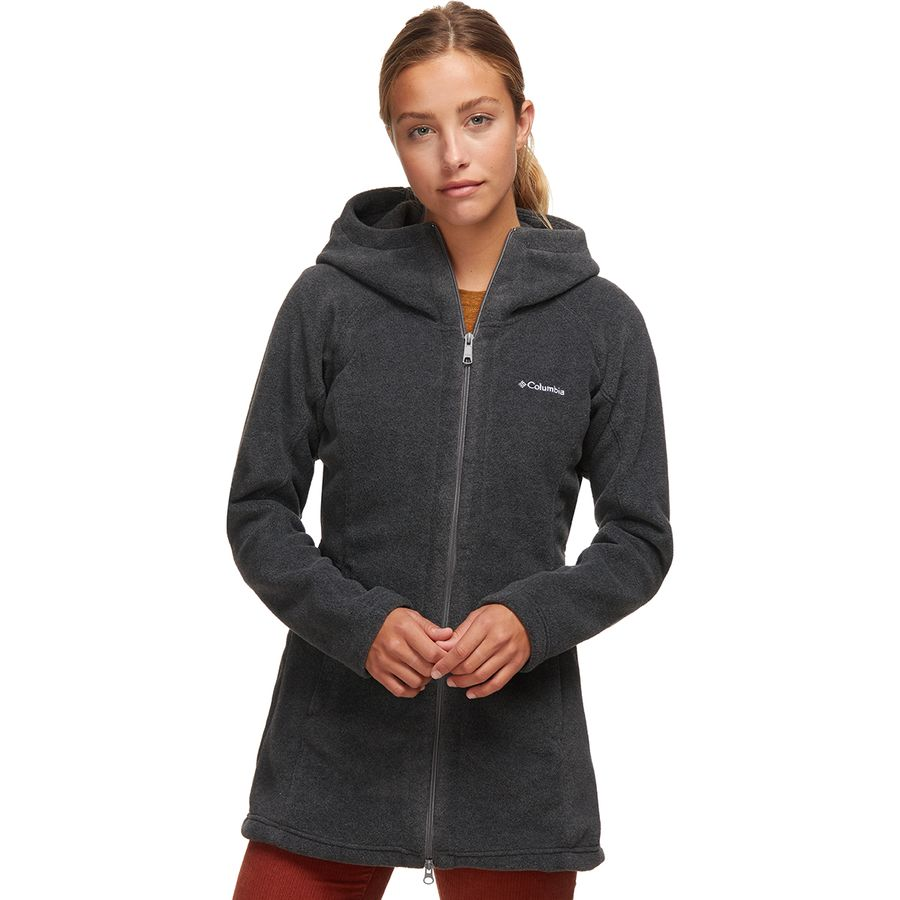 Columbia Benton Springs II Long Hooded Fleece Jacket - Women&39s