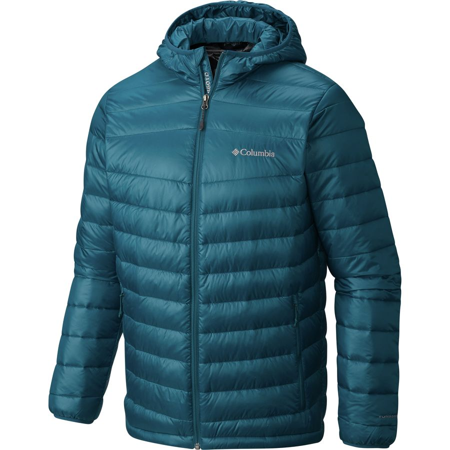 Columbia Platinum 860 Turbodown Hooded Jacket - Mens