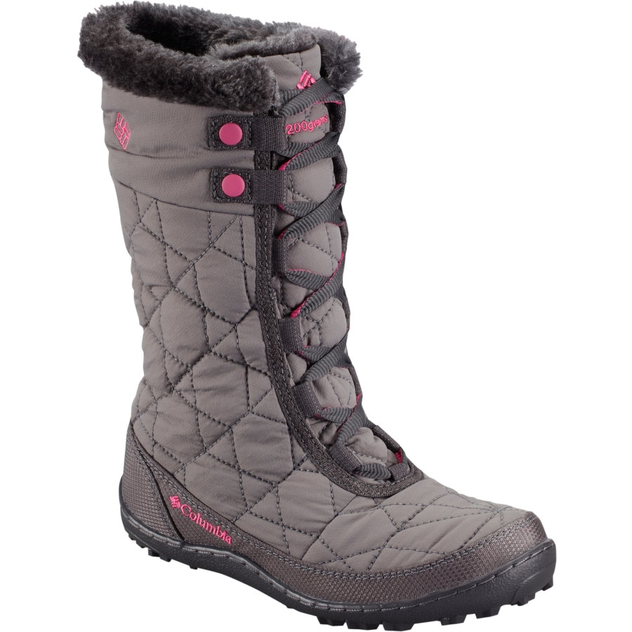 Columbia - Minx Mid II Omni-Heat Waterproof Boot - Girls' - Shale/