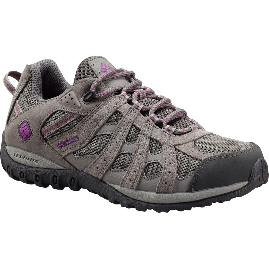 ccf9eb28c80e Columbia - Redmond Waterproof Hiking Shoe - Women s - Charcoal Razzle