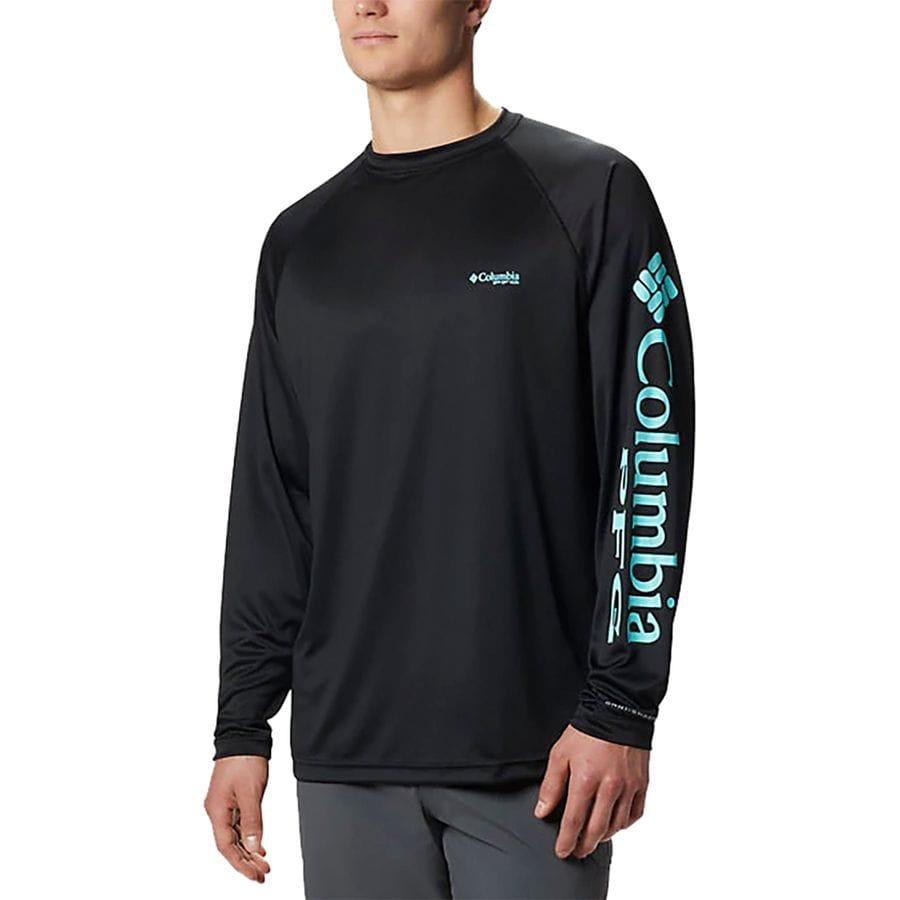 1a2582992e5 Columbia - Terminal Tackle Shirt - Men's - Black/Gulf Stream Logo