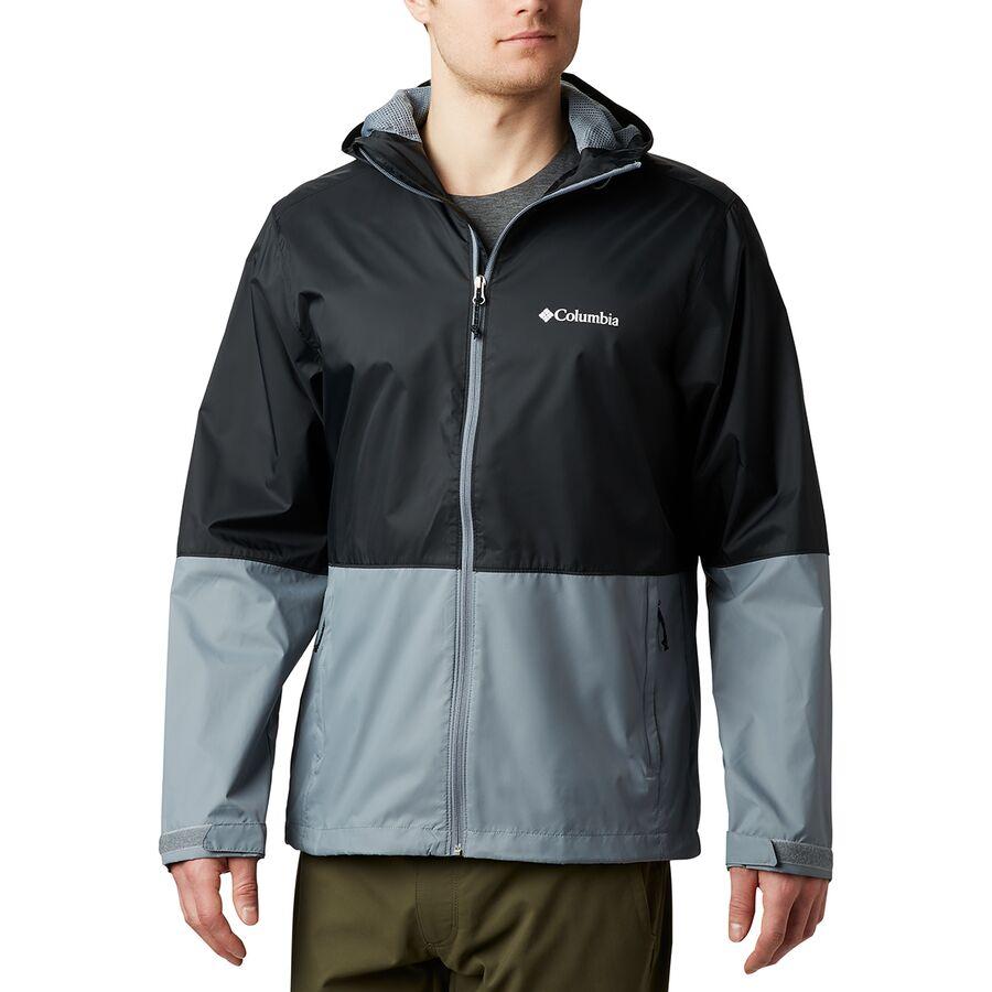 Hooded Waterproof Columbia Mens Roan Mountain Jacket
