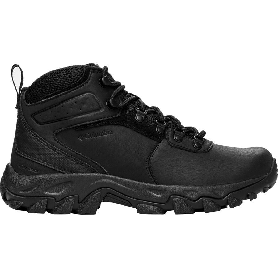 Columbia - Newton Ridge Plus II Waterproof Hiking Boot - Men s - Black Black 3e9e45d2c9